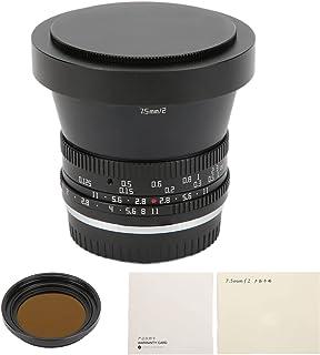 Deror 7,5 mm F2 APS‑C Fisheye-lens, 7,5 mm F2 APS‑C Fisheye-lens voor Fuji X‑T4 FX Mount Camera's met ND1000-filter