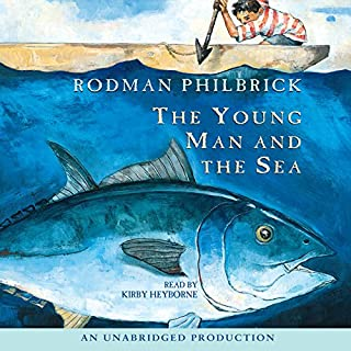 The Young Man and the Sea audiobook cover art