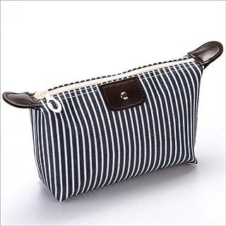 Makeup Wash Storage Pencil Travel Pouch Cosmetic Bag Case Organizer Handbag UK,Black