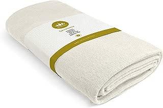 Lotuscrafts Yoga Blanket Cotton Savasana - 100% Organic Cotton - Mexican Blanket Yoga - Meditation Blanket - Yoga Rug - Throw Blanket - Picnic Blanket - Travel Blanket - Camping Blanket [80