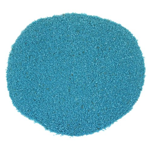 Koyal Wholesale Centerpiece Vase Filler Decorative Sand, 1.3-Pound, Turquoise Blue