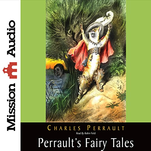 Perrault's Fairy Tales audiobook cover art