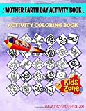Mother Earth Day Activity Book: Picture Quiz Words Activity And Coloring Books 50 Activity Wind, Recycledbag, Landscape, Shield, Green Planet, Plant, Earth, Earth For Kids Ages 2-4