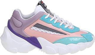 Luxury Fashion | Fila Women 101094340W Pink Leather Sneakers | Spring-summer 20