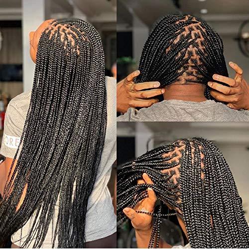 Pre Stretched Braiding Hair Knotless Braids Hair 8...