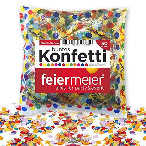 feiermeier® Papierkonfetti, mehrfarbig
