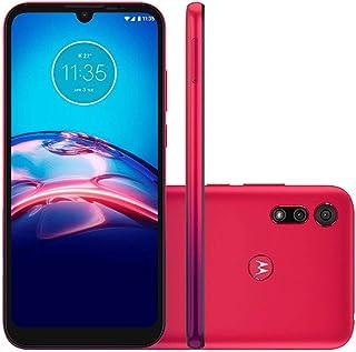 Motorola Moto E6S 64 GB 4 GB RAM Vermelho Magenta (Vermelho Magenta)