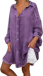 Chemisier tunique shirt See You Biggi-M taille 44-54 grande taille mousseline Pièces 222
