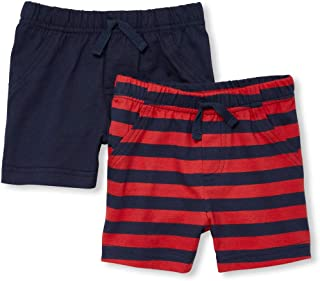 The Children's Place Baby Boys 2 Pack Novelty Printed Shorts Set