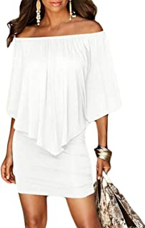 fe44638caf0e Amazon.com: Off the Shoulder - Casual / Dresses: Clothing, Shoes ...