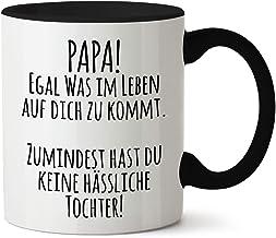 True Statements Papa Tasse Papa egal was im Leben auf Dich zukommt - Kaffeetasse, Kaffeebecher, Geschenk für den Vater zum...
