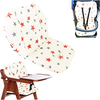 Ancho Baby Stroller/Highchair/Car Seat Cushion Protective Film Breathable high Chair pad (Double Star)