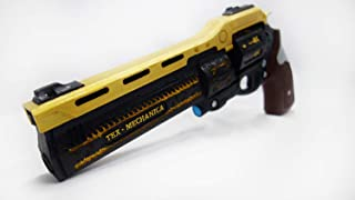 Designed By The Last Word Hand Cannon Prop Free Destiny Banner, has Moving Ammo, Plastic Light and Durable. Safe, Does not Shoot