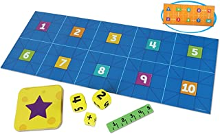 Learning Resources Code & Go Robot Mouse Math, STEM, Math Expansion Pack, Ages 5+,Multi-color,16Piece
