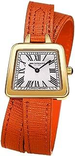 Bruno Magli Women's Emma Swiss Quartz Italian Leather Double Wrap Strap Watch