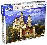 White Mountain Puzzles Neuschwanstein Castle - 1000 Piece Jigsaw Puzzle