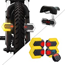 CarryBright Bike Turn Signal Front and Rear Lights IPX6 Waterproof Warning Light with Remote Control,Easy Installation Rec...