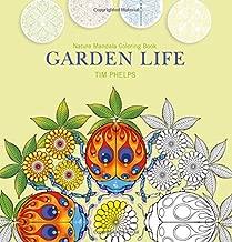 Garden Life: Nature Mandala Coloring Book