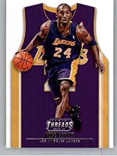 2018-19 NBA Threads Statement SP #211 Kobe Bryant Los Angeles Lakers Official Panini Retail Basketball Card