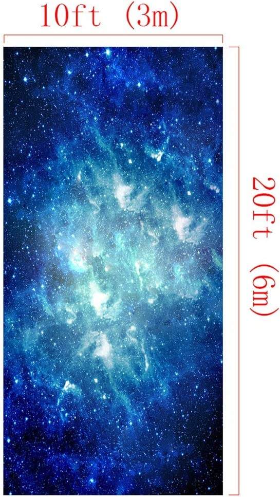 Icegrey Background Photography Fantasy Starry Sky Backdrop Photography Studio Background Cloth Starry Sky 3.3x4.9ft