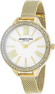 ساعة كينيث كول للنساء KC50939004 كوارتز ذهبية