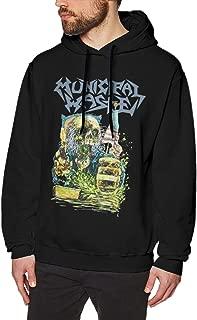 Municipal Waste Fashion Cotton T-Shirt Fashionable Mens Sweater Hooded Sweatshirt Black