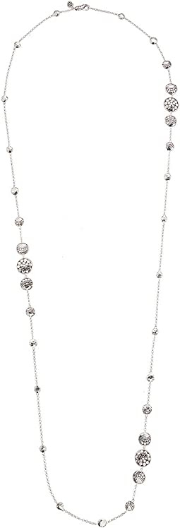 Dot Moon Phase Station Necklace