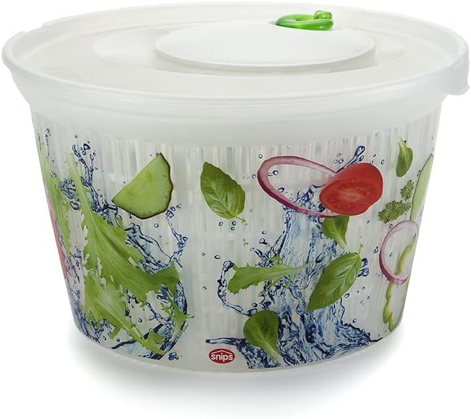 Snips Saver Ulaop Classic 4 Liter Spinner Salad One Size Superlatite Multi Max 50% OFF