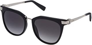 Escada Women's Sunglasses Square SK549, Black