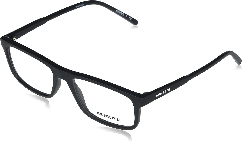 NEW before selling ☆ ARNETTE Men's An7194 Dark Sacramento Mall Rectangular Prescription Eyewe Voyager