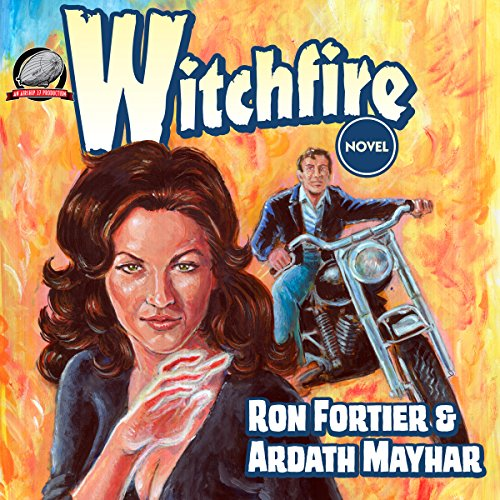Witchfire audiobook cover art