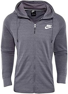 Nike Men's Advance 15 Knit Full-Zip Hoodie Size 3XL Gray