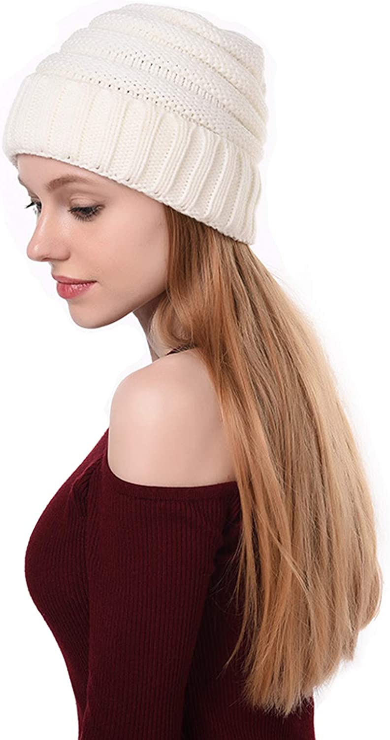 Excellence EUFANCE Slouchy Beanie Soft Stretch Knit Long-awaited Warm Cap Winter Hats fo