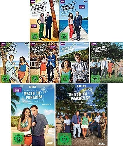 Death in Paradise - Staffel 1-8 (32 DVDs)