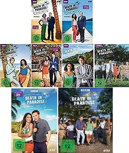 Death in Paradise - Staffel 1-8 im Set - Deutsche Originalware [32 DVDs]