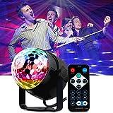 Luces de Discoteca Sonido Activado - Mopalwin Mini bola mágica lámpara etapa 7 Colores...