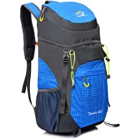AIRSSON 40L Foldable Hiking Lightweight Backpack for Travel