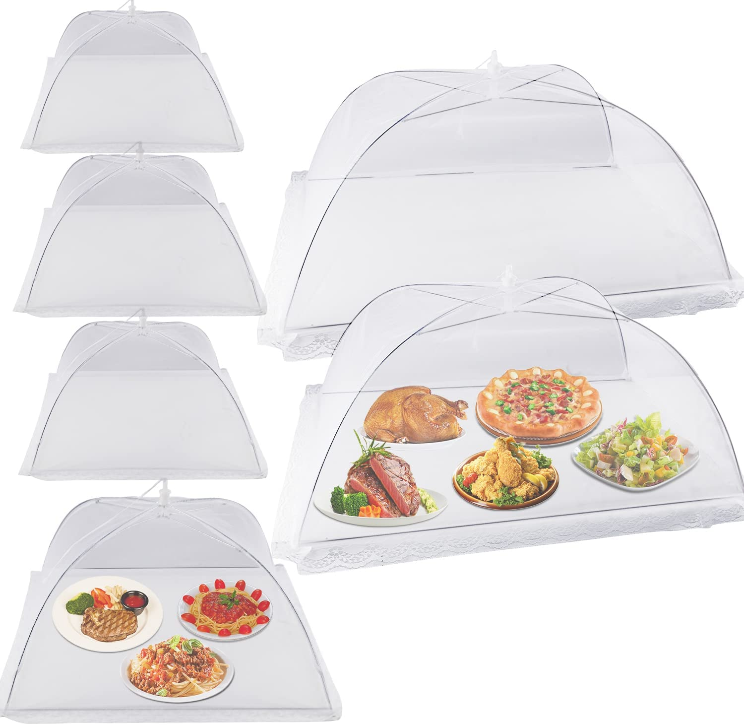 Food Covers for Outside - 2 Large (28