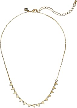 Rebecca Minkoff - Ellie Triangle Necklace