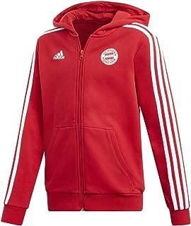 adidas Fc Bayern Youth Full-Zip Hoodie