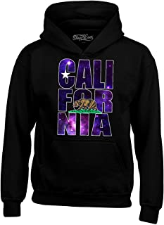 Shop4Ever California Galaxy Hoodie Unisex California Sweatshirts