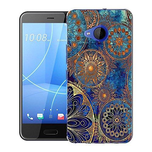 FoneExpert® HTC U11 Life Tasche, Ultra dünn TPU Gel Hülle Silikon Hülle Cover Hüllen Schutzhülle Für HTC U11 Life