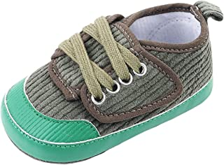 Baby Boys Girls Patchwork Anti-Slip Casual Sneakers Shoes Toddler Soft Soled Shoe First Walkers (Color : G, Size : 12-18 M...