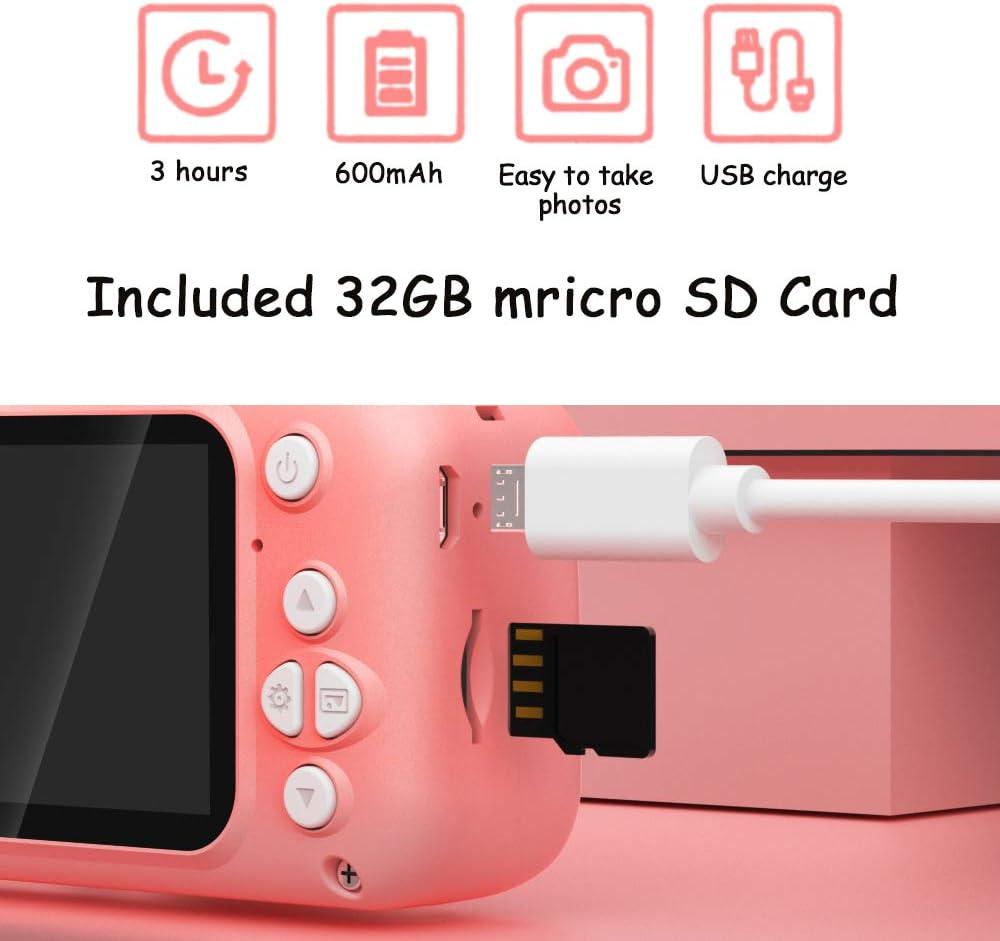 Kids Camera Digital Video Camera Child Cameras Toys Camcorder with ...