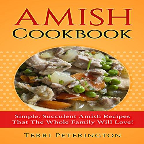 Amish Cookbook audiobook cover art