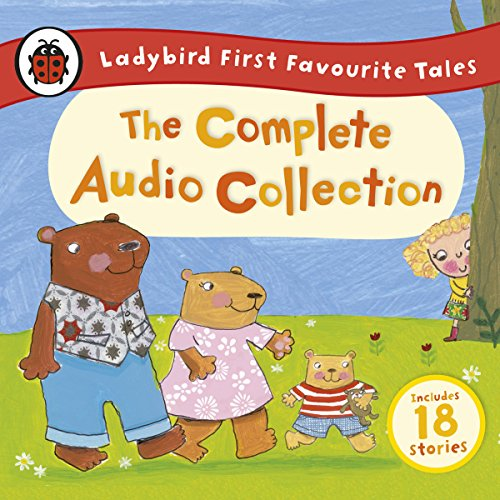 『Ladybird First Favourite Tales: The Complete Audio Collection』のカバーアート