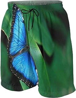 Hajotrawa Girl Elastic Waist Cute Chiffon Cropped Pleated Wide Leg Pants