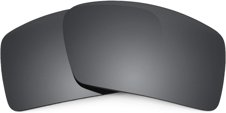 Revant Verres de Rechange pour Oakley Eyepatch 2 - Compatibles avec les Lunettes de Soleil Oakley Eyepatch 2 Chromé Noir Mirrorshield - Polarisés Elite