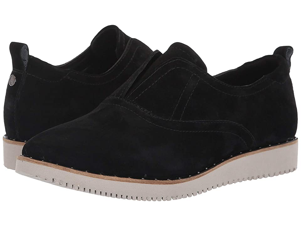 Hush Puppies Chowchow Slip CVO (Black Suede) Women