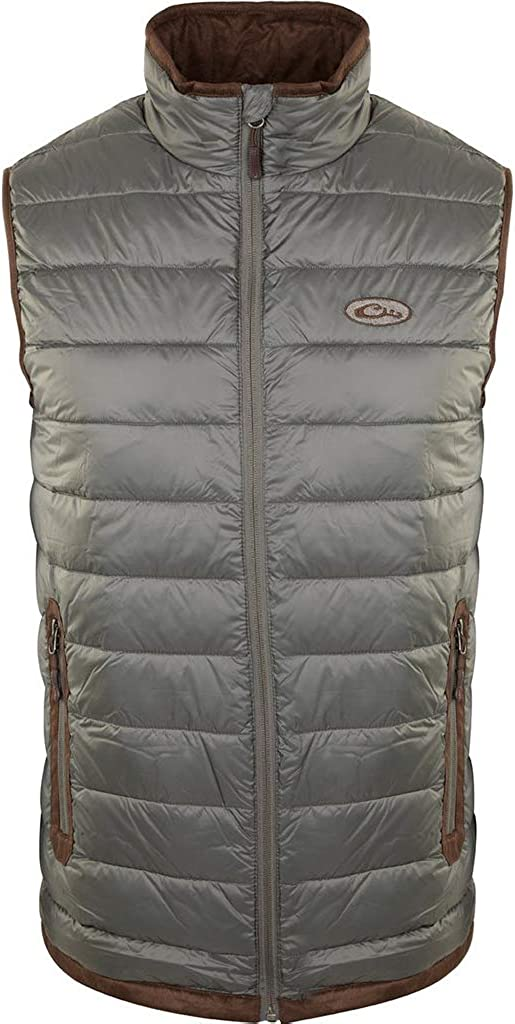 Drake Waterfowl Quantity limited Men's Synthetic Double Zipped Max 70% OFF Insulated Hun Down